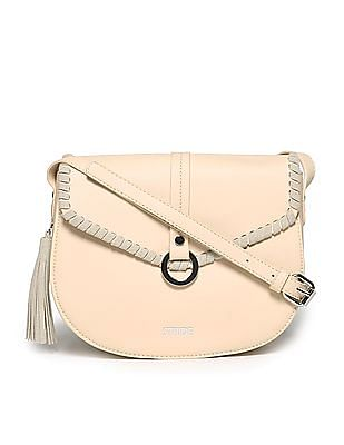 Stride Tassel Trim Sling Bag