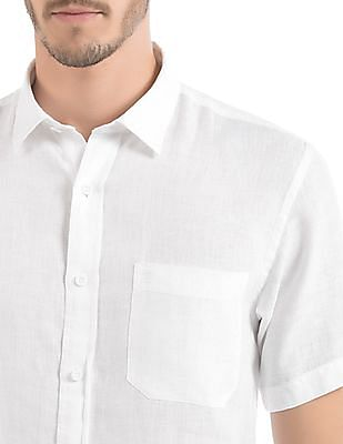 Izod Slim Fit Linen Shirt