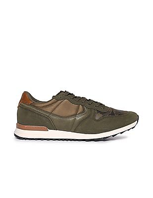 U.S. Polo Assn. Camouflage Printed Lace Up Sneakers