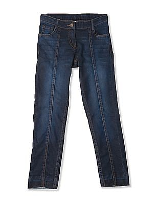 Cherokee Girls Slim Fit Dark Wash Jeans