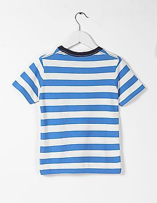 GAP Baby Patch Pocket Striped Tee