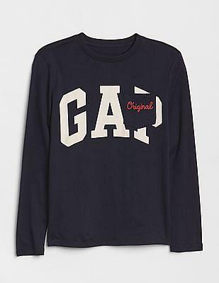 GAP Boys Logo Remix Pocket T-Shirt