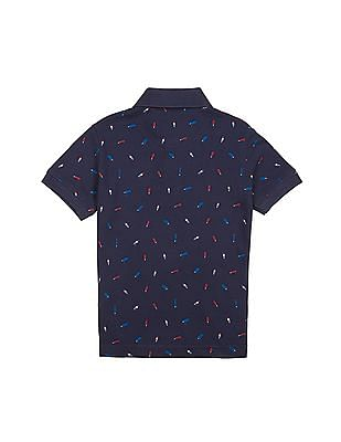 U.S. Polo Assn. Kids Boys Popsicle Print Polo Shirt