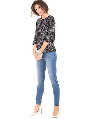 Newport Mid Rise Skinny Fit Jeans