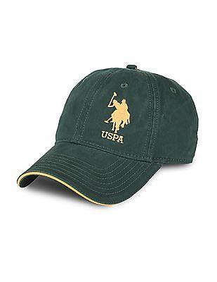 U.S. Polo Assn. Embroidered Cotton Baseball Cap