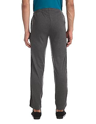 Colt Grey Contrast Taping Heathered Track Pants
