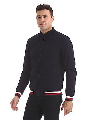 Arrow Sports Padded Bomber Jacket