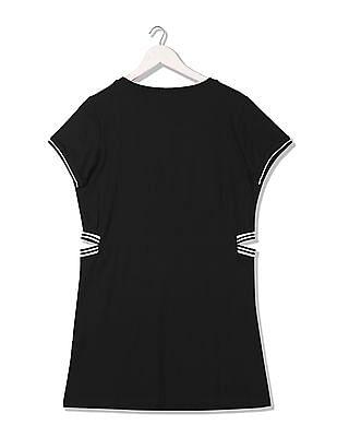 EdHardy Women Printed T-Shirt Dress