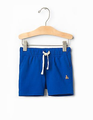 GAP Baby Solid Pull-On Shorts