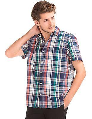 GAP Madras Plaid Standard Fit Shirt