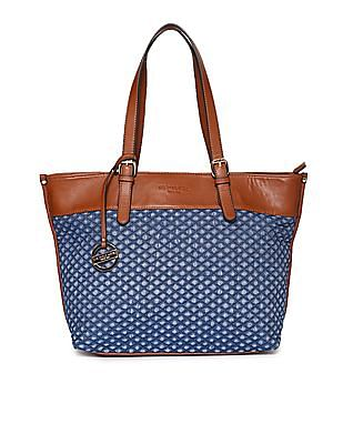 U.S. Polo Assn. Women Quilted Tote Bag