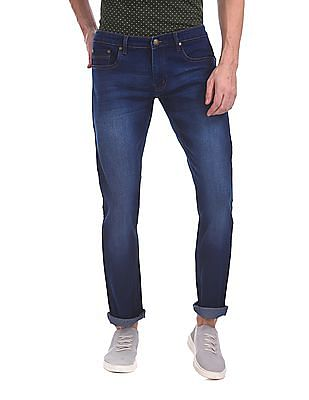 Newport Skinny Fit Washed Jeans