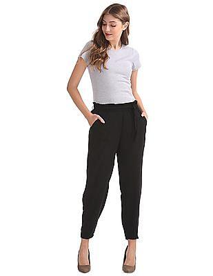 SUGR Elasticized Waist Woven Pants
