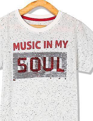 Cherokee Boys Short Sleeve Graphic T-Shirt
