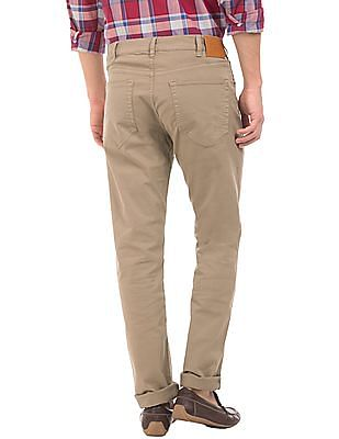 Gant Mid Rise Regular Straight Fit Jeans