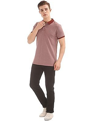 Ruggers Patterned Regular Fit Polo Shirt