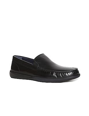 Cole Haan Black Lovell Two Gore Loafers