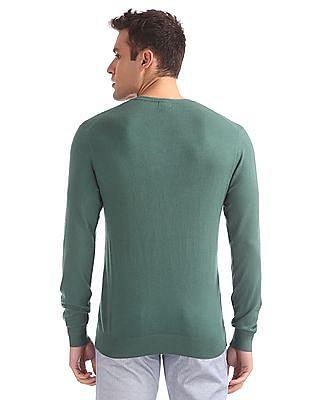 Arrow Sports Regular Fit Long Sleeve Sweater