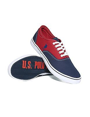 U.S. Polo Assn. Contrast Panel Colour Block Sneakers