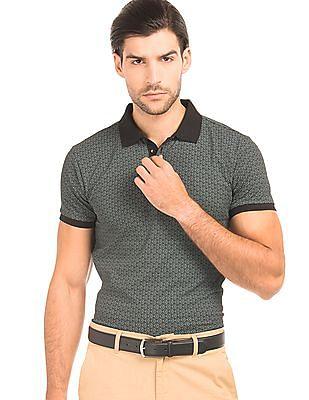 Izod Printed Polo Shirt
