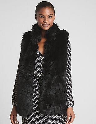 GAP Faux-Fur Vest