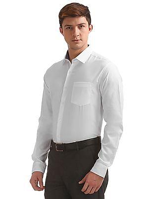 Excalibur French Placket Regular Fit Shirt