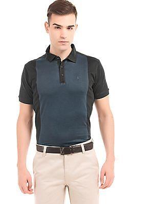 Arrow Newyork Colour Block Regular Fit Polo Shirt