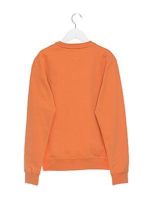 FM Boys Boys Crew Neck Printed Sweatshirt