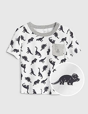 GAP Baby Print Pocket T-Shirt