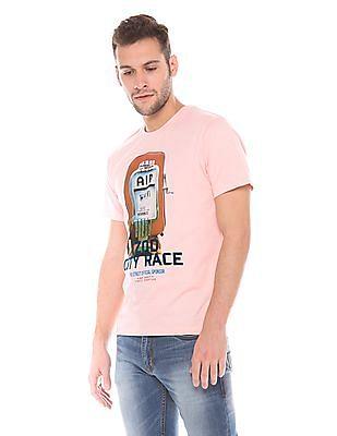 Izod Slim Fit Crew Neck T-Shirt