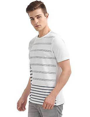 Cherokee Striped Regular Fit T-Shirt