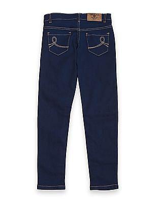 Cherokee Girls Mid Rise Slim Fit Jeans