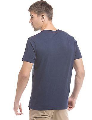 Gant Indigo Regular-Fit Crew Neck T-Shirt