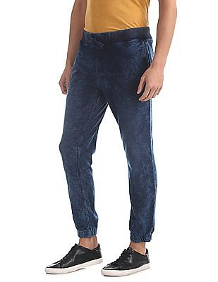 U.S. Polo Assn. Denim Co. Regular Fit Washed Joggers