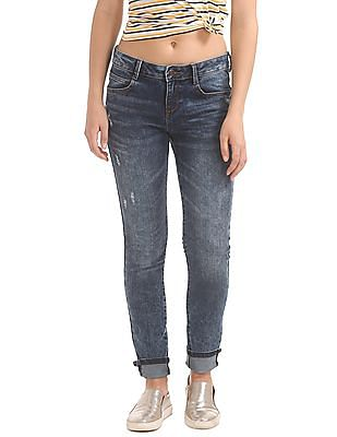 Cherokee Lightly Distressed Skinny Fit Jeans