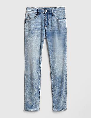 GAP Blue Boys Lightweight Slim Jeans