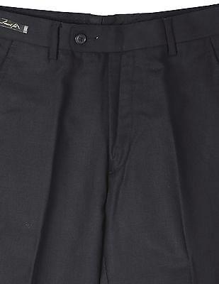 Arrow Wool Flat Front Trousers