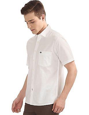 Arrow Sports Regular Fit Short Sleeve Shirt