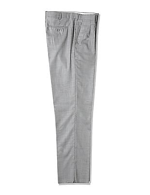 Arrow Wool Pleated Front Trousers