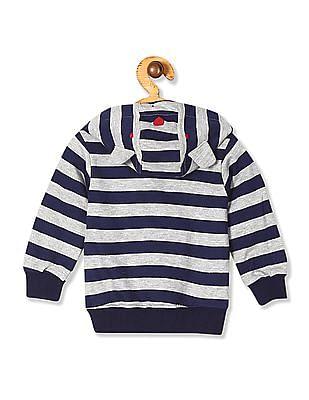 Donuts Boys Striped Hooded Sweatshirt