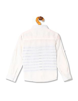 Cherokee Boys Cotton Stripe Shirt