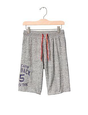 GAP Boys Camp Graphic Sweat Shorts