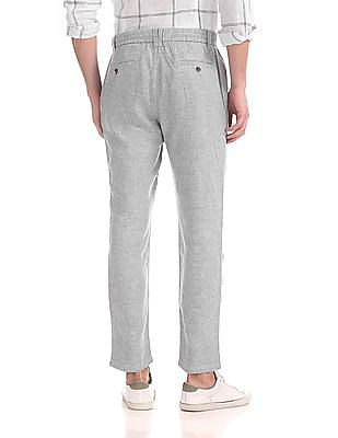 Cherokee Heathered Linen Trousers