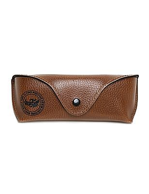 Flying Machine Brown Square Frame Gradient Sunglasses