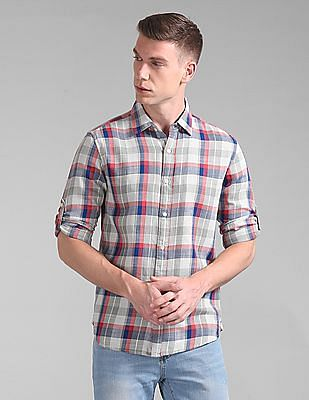 GAP Slim Fit Check Shirt