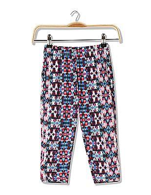 Cherokee Girls Printed Pants