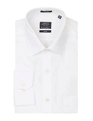Arrow Solid Regular Fit Shirt