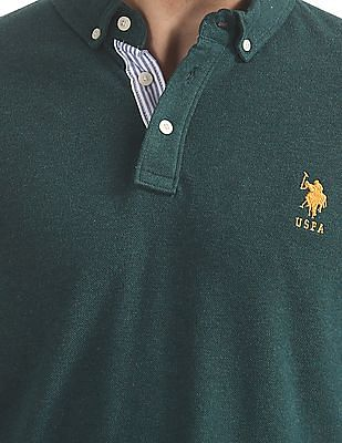 U.S. Polo Assn. Regular Fit Full Sleeve Polo Shirt