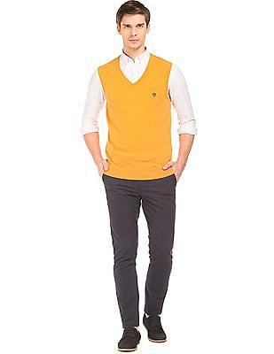 Izod Sleeveless Wool Blend Sweater