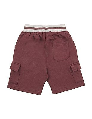 Cherokee Boys Knit Cargo Shorts